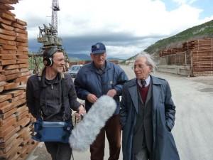 Andrea Giuseppini, Ivan Butković in Giacomo Scotti v Bakru