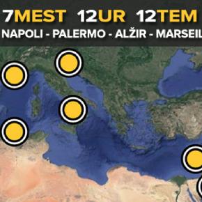 Foto maraton Ljubljana, Bejrut, Napoli, Alžir, Palermo, Aman, Marseille
